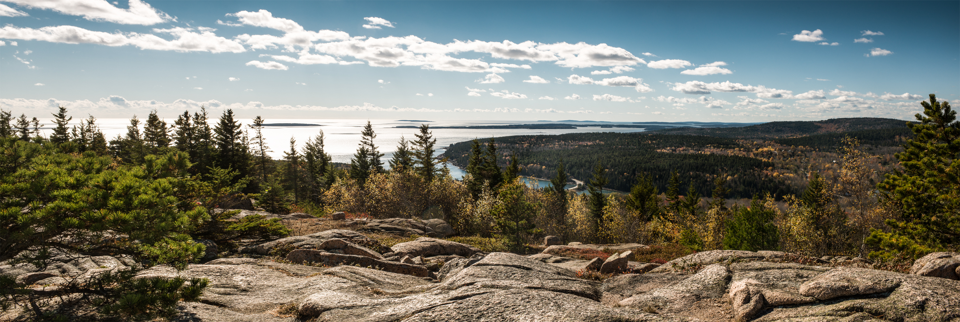 Photographing landscapes on a road trip from New York to Salem Massachusetts and acadia national park in maine_08
