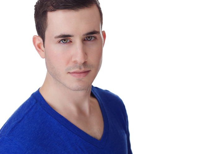 Headshot session with actor Andrew Lowrey in brooklyn photo studio with greg j konop photography_01